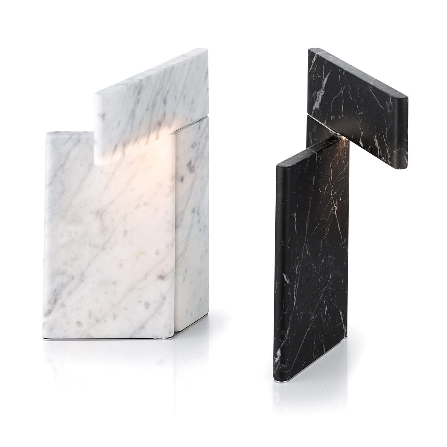 BREAK-table-lamp---for-MARM---Carrara-and-Marquina-marbles---2019